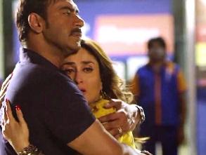 Ajay, Kareena in Singham Returns