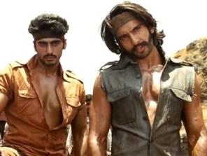 Arjun-Ranveer in 'Gunday'
