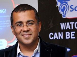 Chetan Bhagat (IANS pic)