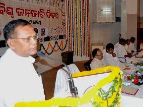 Lal Bihari Himirka addressing the convention  ( Pic-Biswaranjan Mishra)