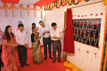 Union Textiles secretary SK Panda inaugurating the new department of Fashion Design at NIFT, Bhubaneswar (Photo: Biswaranjan Mishra)