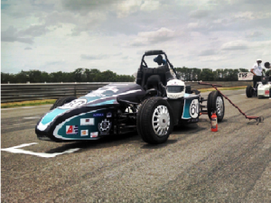 Racing Car designed by NIT, Rourkela