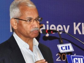 Union Commerce Secretary Rajeev Kher