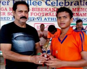 Sampad Patra: Player of the Match