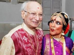 With Vyjayanthimala