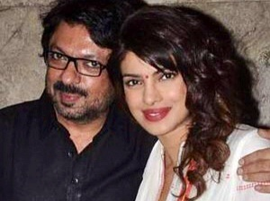 Priyanka with Sanjay L Bhansali