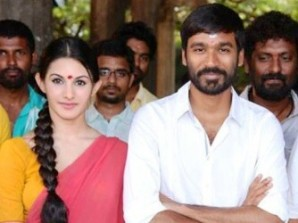 Amyra with Dhanush