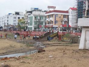 Polluting hotels in Puri ( courtesy- balaram ranasingh.blogspot.com)