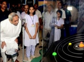 Odisha CM Naveen Patnaik at the Motion Gallery  (Pic-Biswaranjan Mishra)