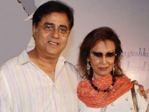 Chitra with hubby Jagjit Singh