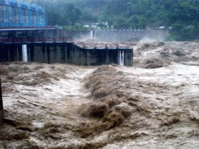 File pic of devastating flood in River Kosi in 2010