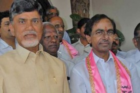 File pic KCR-Naidu ( source:newsteugu.net)