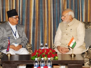 Nepal Foreign Minister MB Pandey calls on PM Modi (PIB)