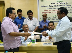 NDDB MoU with Odisha