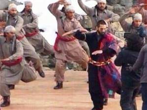 Shahid in a dance sequence in 'Haider'