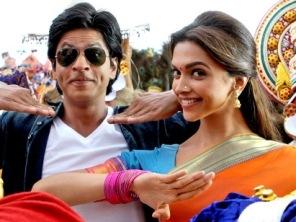 SRK with Deepika in Chennai Express
