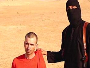 British aid worker David Haines before the beheading