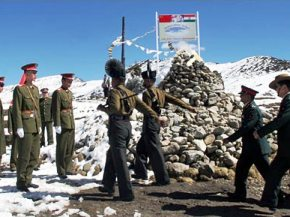 File pic of Indo-Chinese border point ( courtesy- AP)