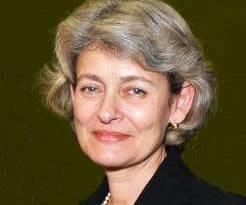 Irina-Bokova, Dir. Gen., UNESCO