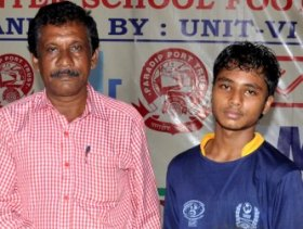 JaganBehera (R) : Adjudged man of the match
