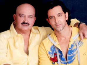 Rakesh Roshan with son Hrithik