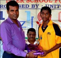 SK Behera-Man of the Match