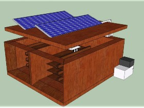 Solar powered micro cold storage (source-hcdconnect.org)