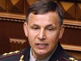 Ukrainian Defence Minister Valeriy Geletey