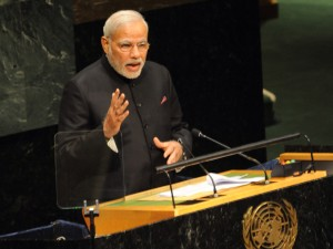PM Modi at the UN (PIB)