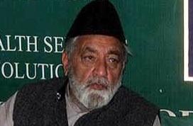 Kashmiri Shia leader Ifftekhar Ansari