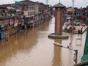 Srinagar flood Kashmir