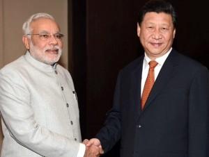 File pic of Modi-Xi meeting ahead of BRICS summit
