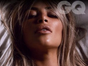 Kim Kardashian on GQ cover