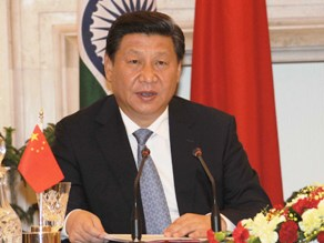 Chinese President  Xi Jinping interacting with media ( PIB)