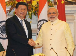 PM Modi with Chines President Xi Jinping (PIB)