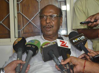 Prafulla Ghadai after his expulsion from the BJD (Pix: Biswaranjan Mishra)