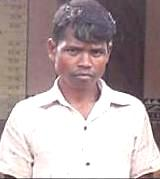 Bilas Kumar Nayak, the cook who was released by the Maoists