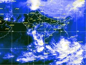 Cyclone Hudhud Oct 7/14