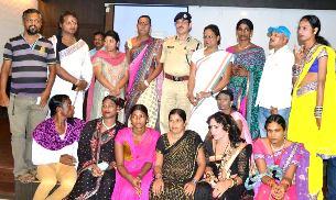 CP Dr RP Sharma with  TG  leaders ( pic- Biswaranjan Mishra)