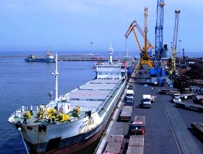 Iran port