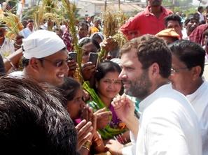 Rahul  Gandhi at Jeypore