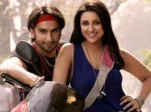 Parineetin with Ranveer in 'Kill Dil'