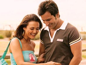 Saif-Preity in Happy Ending
