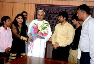 Sportspersons with Naveen