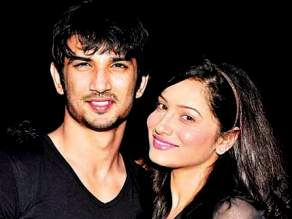 Ankita with Sushant