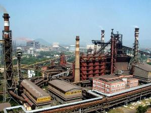 File pic of Vizag Steel Plant