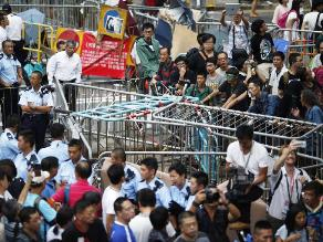 File Pic of Hongkong protests