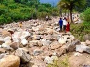 Landslide in R Udaygiri