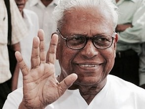 V.S. Achuthanandan  ( courtesy- outlookindia.com)
