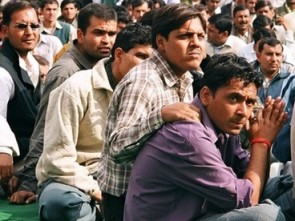 Waiting for employment ( source- rediff.com)